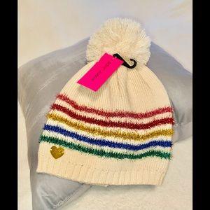 Betsy Johnson Snow Hat NEW!!